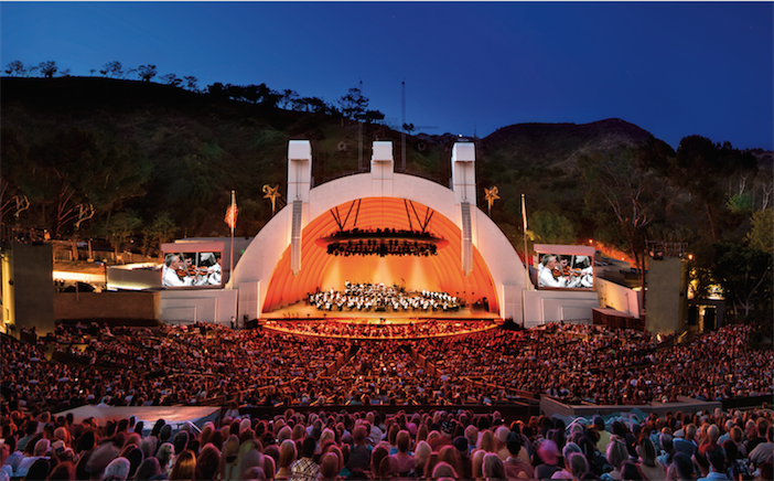 Hollywood Bowl photo courtesy of the Los Angeles Philharmonic