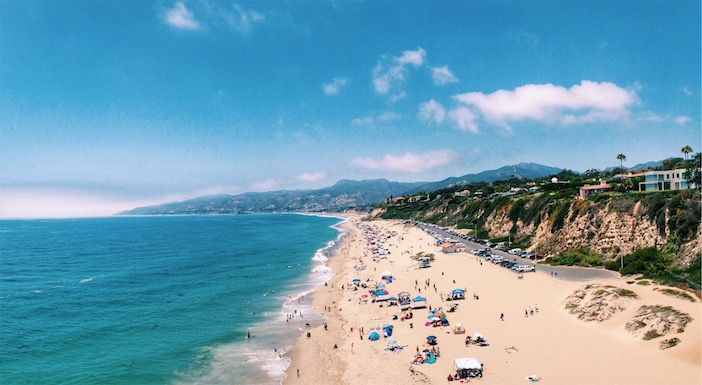 Zuma Beach photo by Christina Wiese