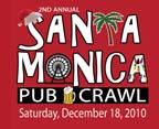 2nd Annual SANTA Monica Pub Crawl