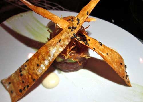 tuna tomato and basil tartare recipe yummly basil tuna tomato tuna ...