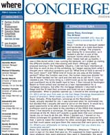 San Diego Concierge News