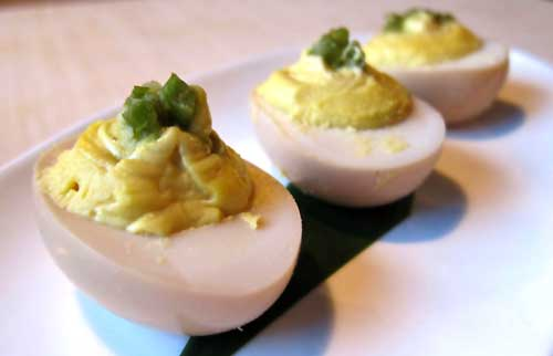 Bamboo Izakaya deviled eggs