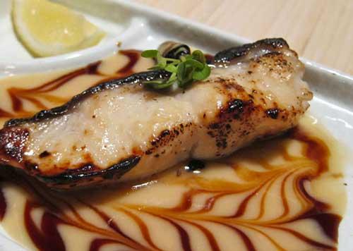 Bamboo Izakaya miso black cod