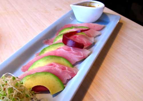 Bamboo Izakaya sushi