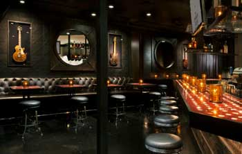 Front room at The Sayers Club.