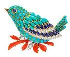 97550 clip Oiseau bleu 1963 T. Falcone