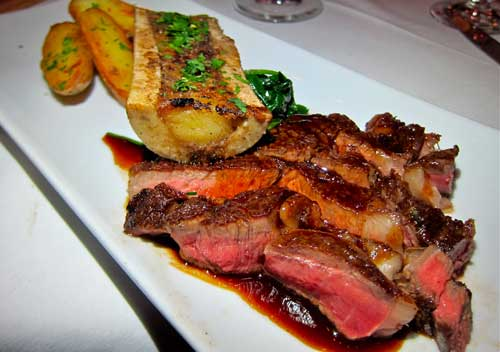 Pin Cowboy Steak With Chimichurri Sauce Tapiture on Pinterest