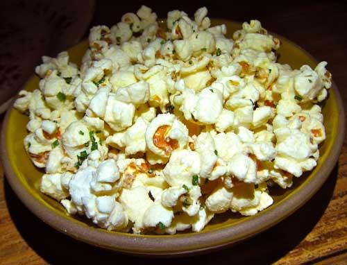 popcorn at the church key