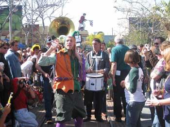 Los Angeles Mardi Gras parties.