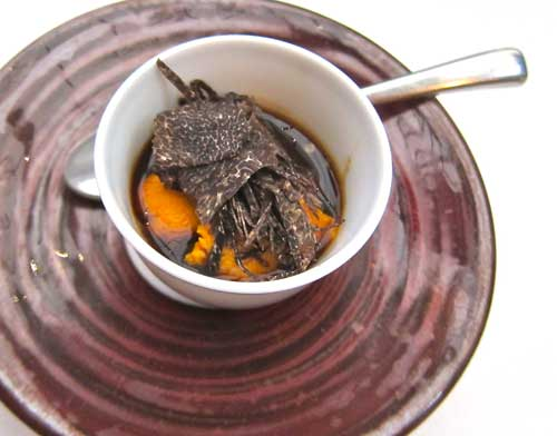 uni at Spago Beverly Hills
