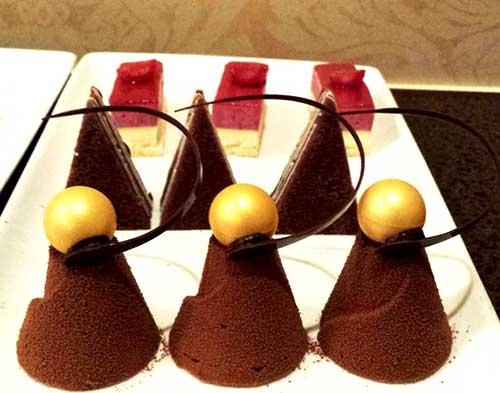 golden globes dessert
