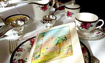 Langham high tea