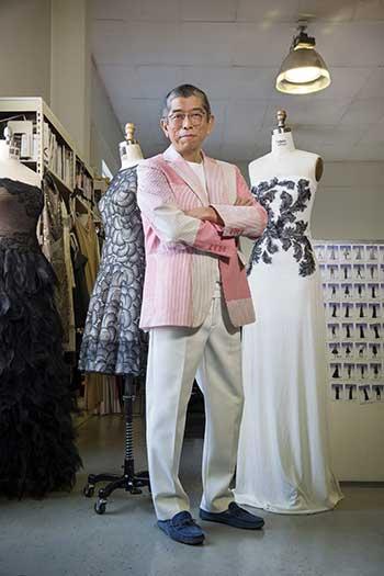 Fashion Designer Tadashi Shoji Chats With Us About His Inspirations Aspirations And Ng Tips