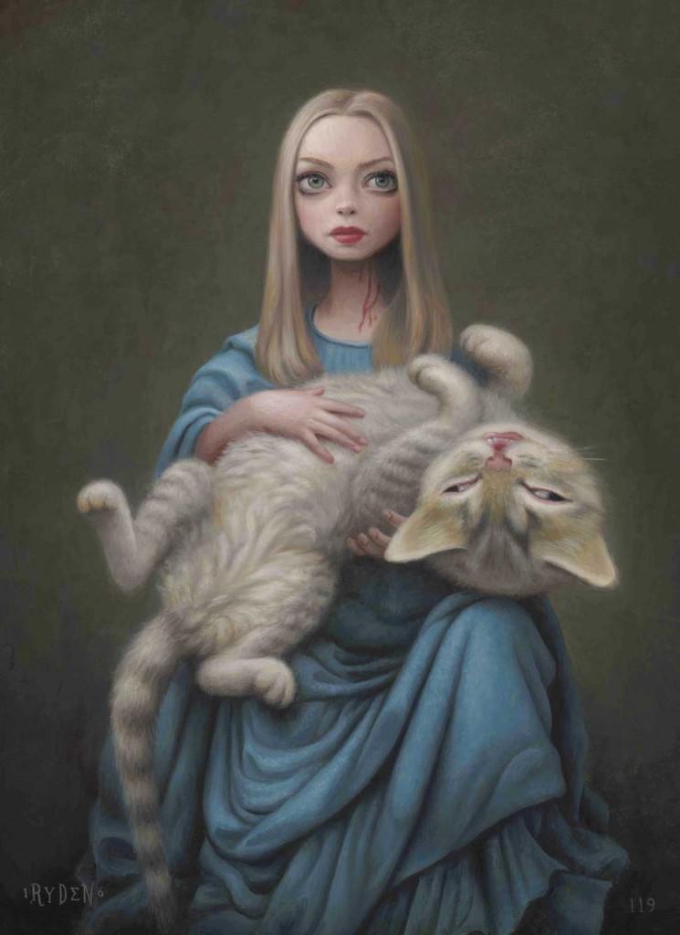 cat art show la