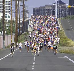 San diego weekend events for Bay bridge run 2016