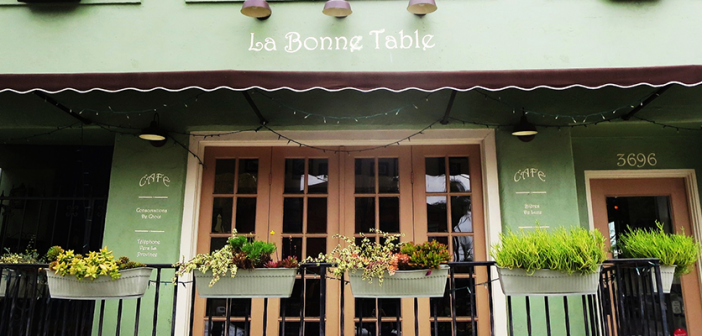 La Bonne Table Serves French Fare in Hillcrest