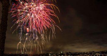 Newport Dunes Fireworks