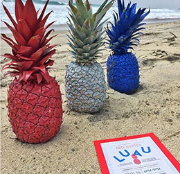 red white and luau