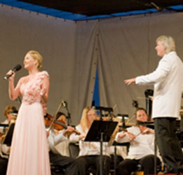 Irvine's SUmmer concert series