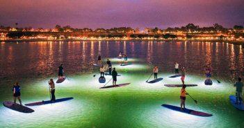 Radiant Paddleboard Rides