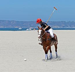Polo-Player-Beach