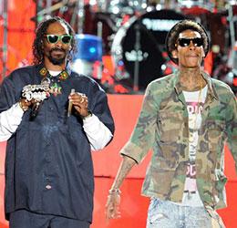 Snoop Dogg and Wiz Khalifa