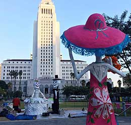 Day of the Dead in Grand Park