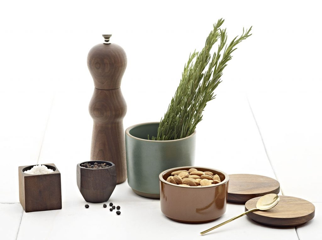Heath Ceramics' Winter Seasonal countertop set