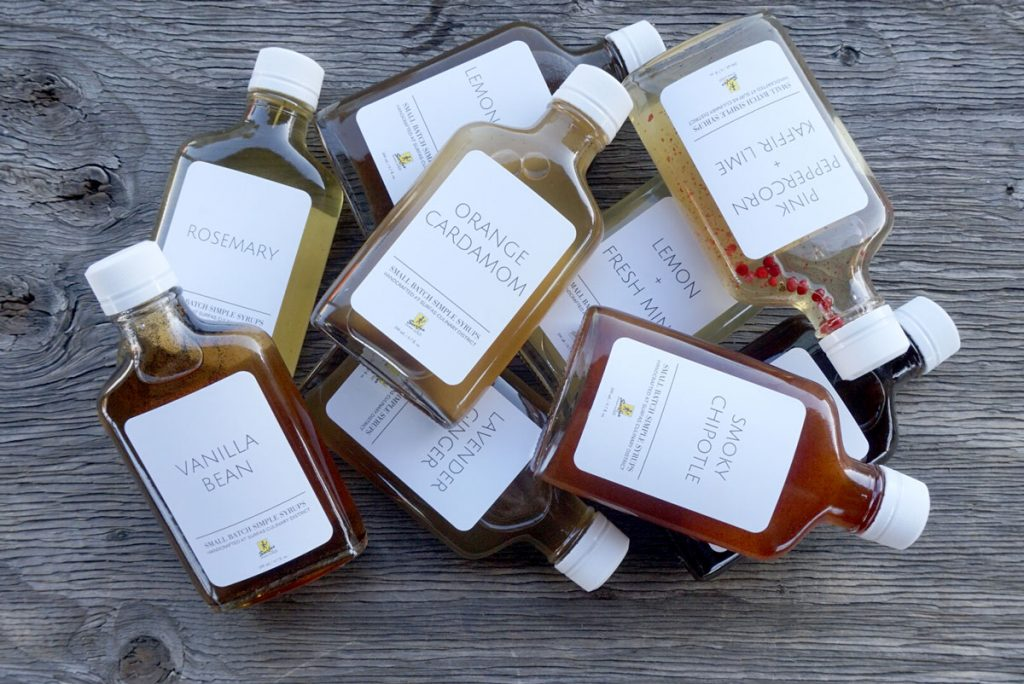 Gourmet syrups from Surfas in Culver City