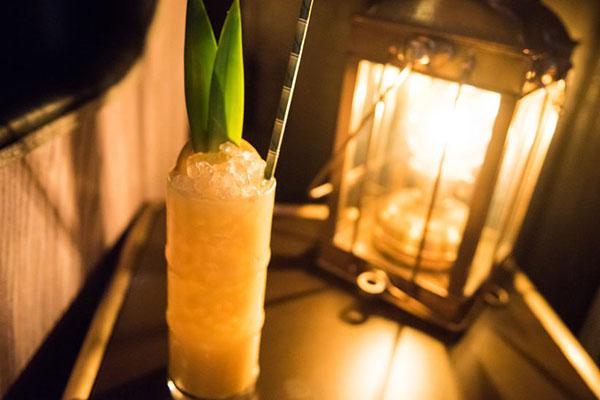 San Diego Restaurants the Grass Skirt Tiki Bar