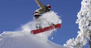 Snowboarding Big Bear