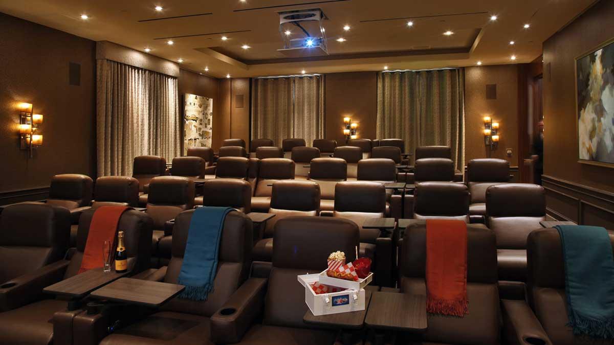 The Four Seasons Hotel Screening Room