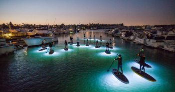 SUP Glow Night Tours Pirate Coast Paddling