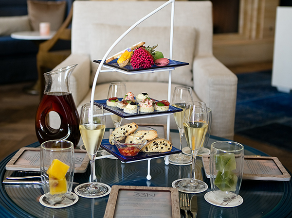 Afternoon Tea at Monarch Beach Resort
