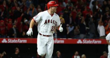 Mike Trout Angel Stadium