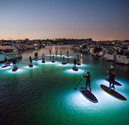 Pirate Coast Paddling Glow Tours
