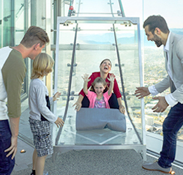 Celebrate Dad at OUE Skyspace LA