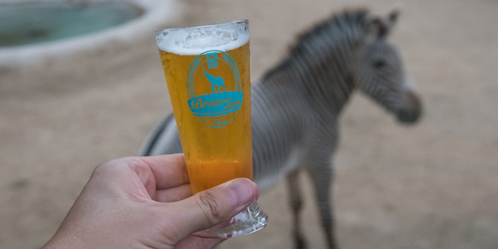 Brew at the LA Zoo photo by Jamie Pham