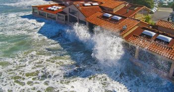 Experience dinner with a side of splash at The Marine Room's High Tide Dinner.