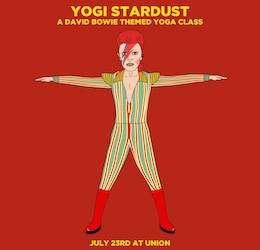Yogi Stardust: A David Bowie Themed Yoga Class