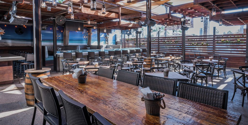 Head to Backyard Kitchen & Tap for food and drink specials.