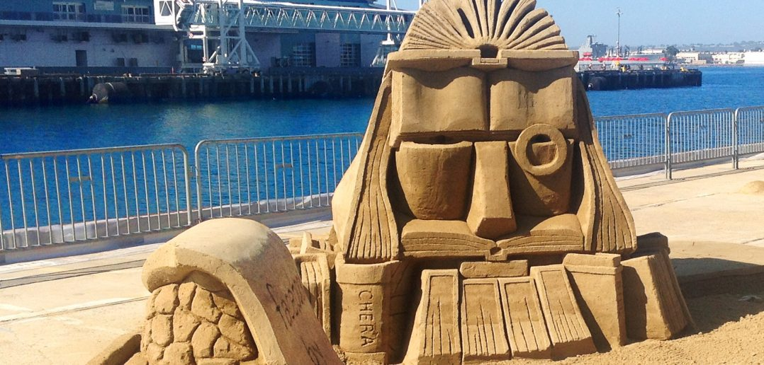 View amazing sand creations as artists compete against each other.
