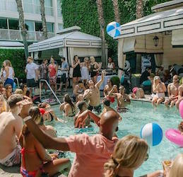 The Last Pool Party of Summer