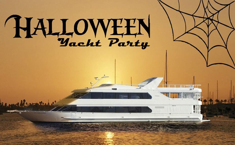 Halloween Yacht Party banner