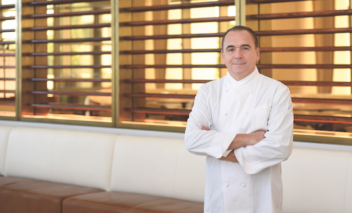 Jean-Georges Vongerichten photo by Billy Farrell / courtesy of Waldorf Astoria Beverly Hills.