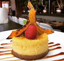 Sushi-Roku-Pumpkin-Cheesecake