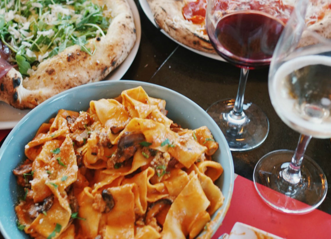 Bust out your scarves and sweaters and sample from Oficine Buona Forchettas hearty fall menu.