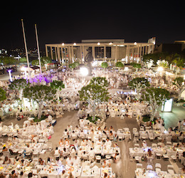 Dinner en Blanc Los Angeles photo by Jeromy Robert