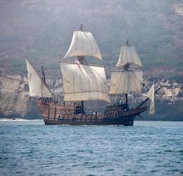 Maritime Museum of San Diego San Salvador photo by Chris Szwedo