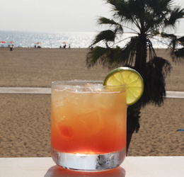 Shutters Sunset Margarita